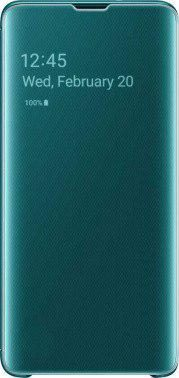 Чехол (флип-кейс) Samsung для Samsung Galaxy S10 Clear View Cover (green)