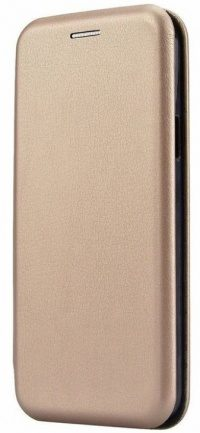 Чехол-книжка Samsung Galaxy S10 Fashion Case 3D (gold)