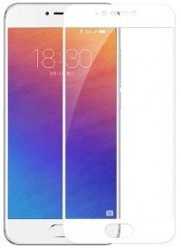 3D Стекло Meizu M5s Full screen (white)