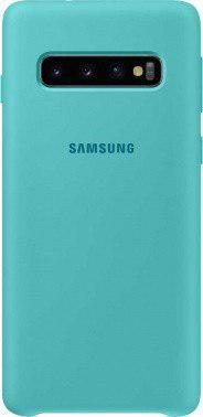 Чехол (клип-кейс) Samsung для Samsung Galaxy S10 Silicone Cover (green)