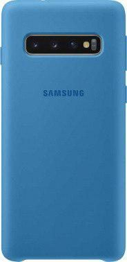 Чехол (клип-кейс) Samsung для Samsung Galaxy S10 Silicone Cover (blue)