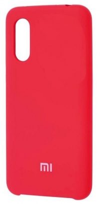 Накладка оригинальная Silicone cover Xiaomi Mi9 SE (silky & soft-touch) (red)