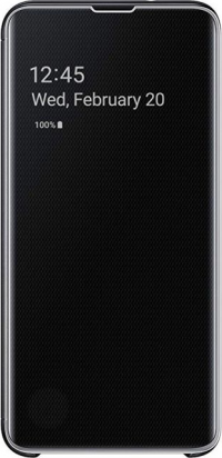 Чехол (флип-кейс) Samsung для Samsung Galaxy S10 Clear View Cover (black)