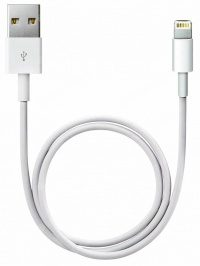 Кабель USB Lightning Apple оригинал (белый) 1м