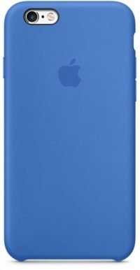 Накладка оригинальная Silicone cover iPhone X (silky & soft-touch) (dark blue)